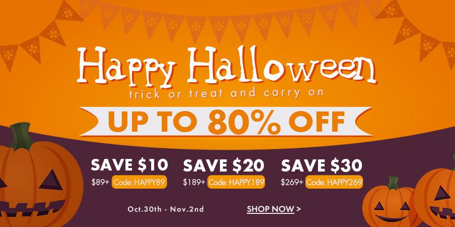 Happy Halloween Offers