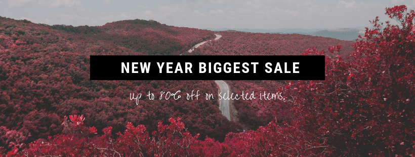 Start The Year With Biggest Sale!