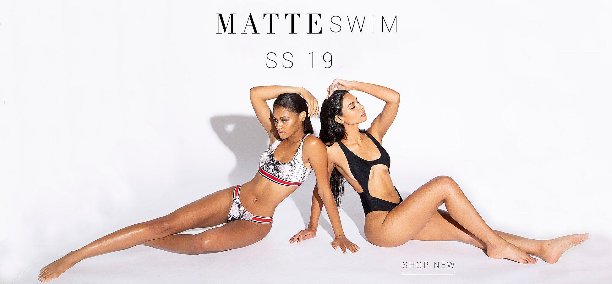 mattecollection swimwear offers