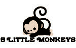 5 Little Monkeys Bedding