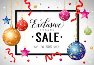 Christmas sale 2k19
