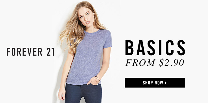 Forever 21 Canada offers
