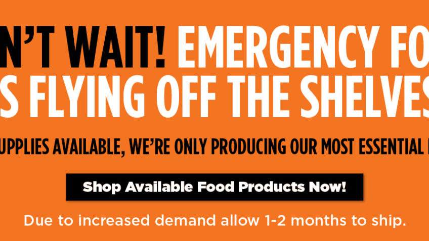 Be Prepared Food Offers